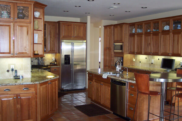 keeping your new kitchen cabinets organized - southwest kitchen