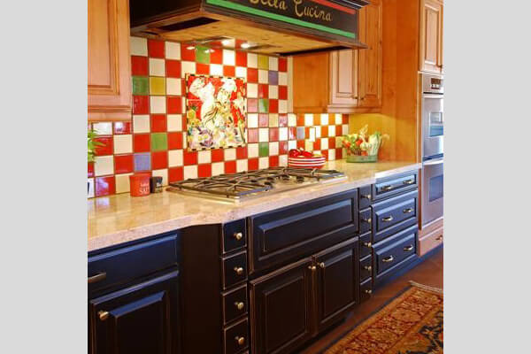 Choosing a color scheme for your kitchen southwest kitchen - Kitchen cabinets southwest ...