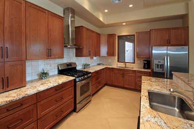 Mixing And Matching Kitchen Cabinet Styles Southwest Kitchen