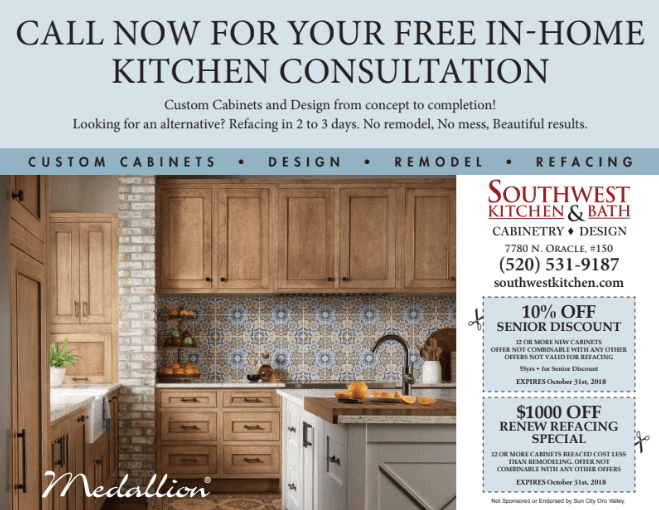 Kitchen And Bath Remodeling Flyer