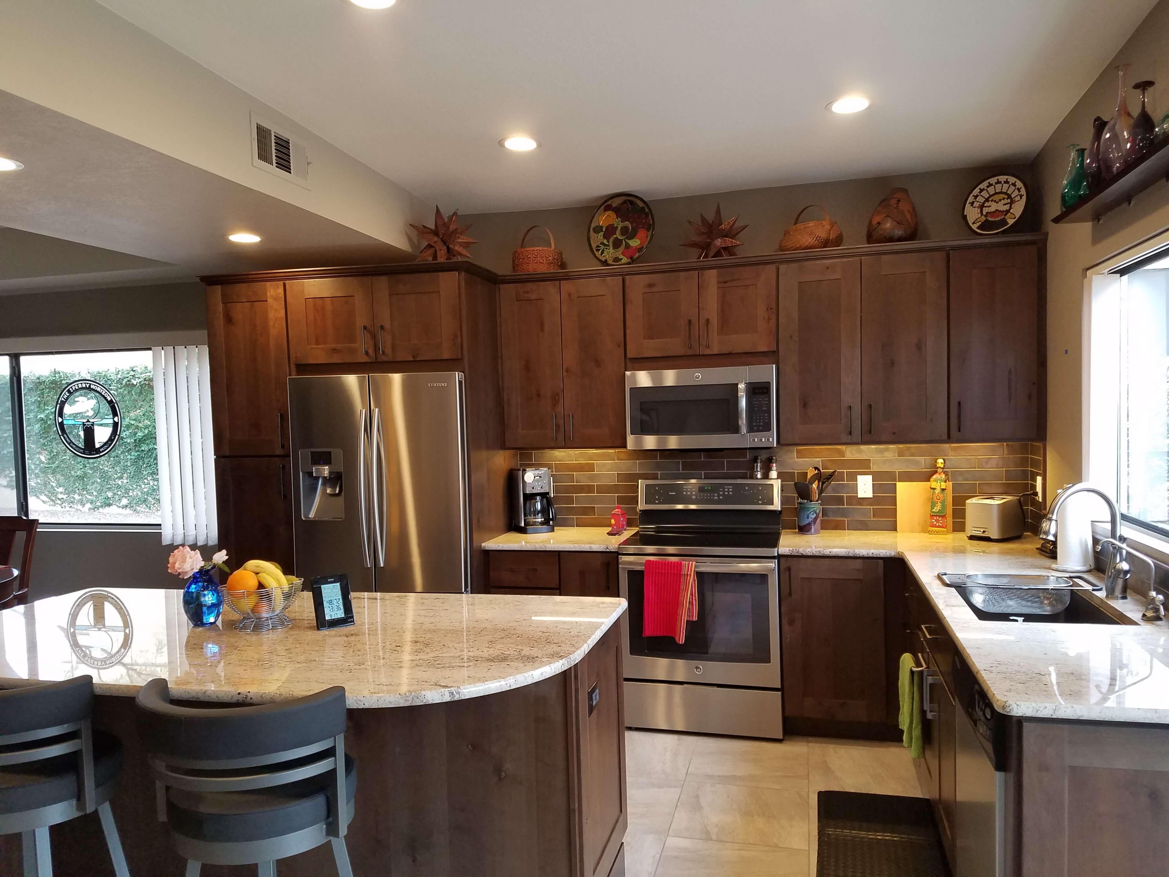 El Conquistador Kitchen Remodel; Designer Melissa Elkins   Southwest Kitchen