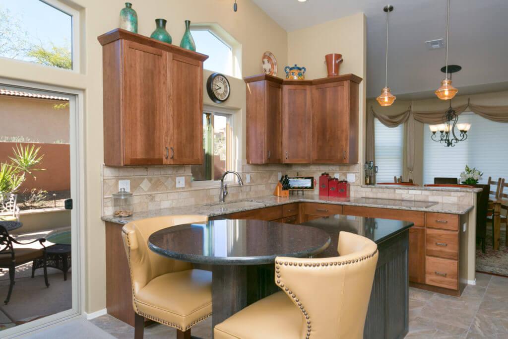 Gurtcheff kitchen remodel designer laura wallace for Southwest kitchen designs