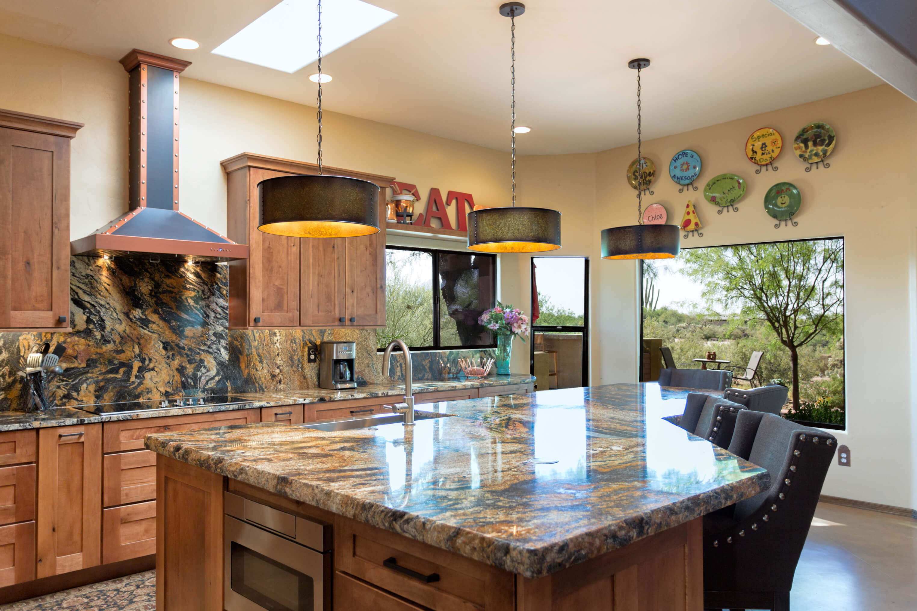 Moore road kitchen remodel designer laura wallace for Southwest kitchen designs