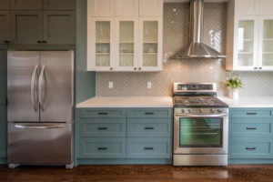 Kitchen Trends: Two-Toned Cabinets