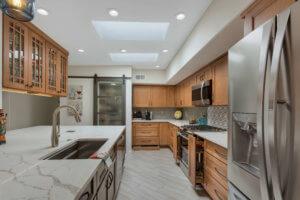 Fairfield Kitchen Remodel <br> Designer Maria Jean