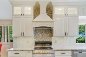Solitude White Kitchen; <br> Designed by Maria Jean