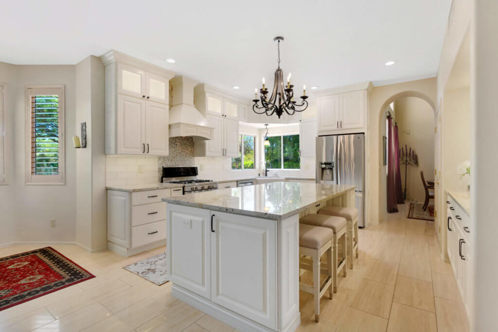 solitude white kitchen; designedmaria jean - southwest