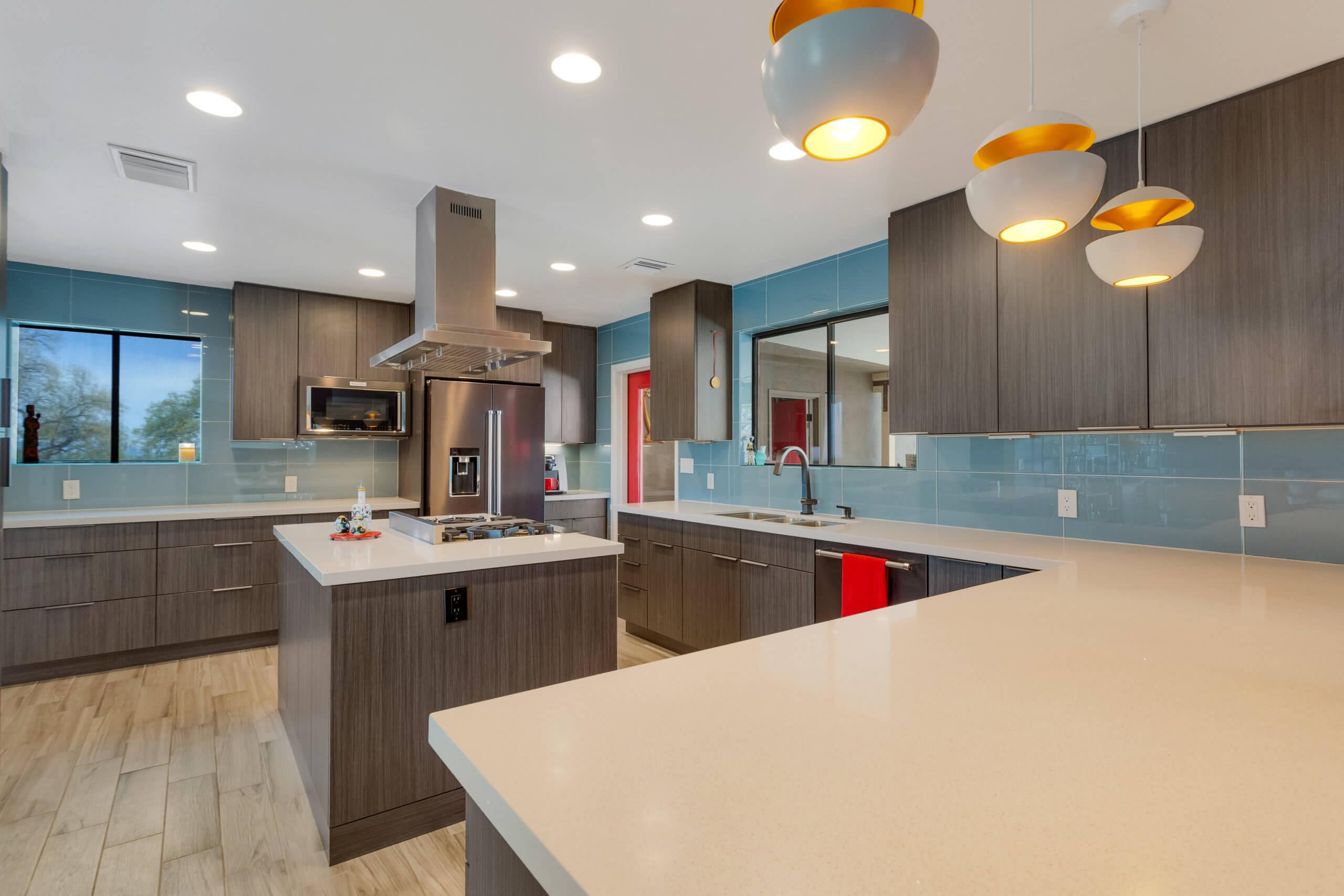 Licorice Slab Remodel Design By Matt Yaney Southwest Kitchen
