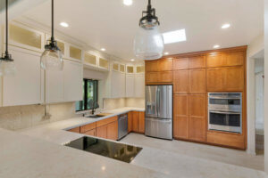 Modern Dual Tone Remodel; Design By Laura Wallace