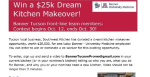 Banner Announces the $25K Dream Kitchen Makeover!