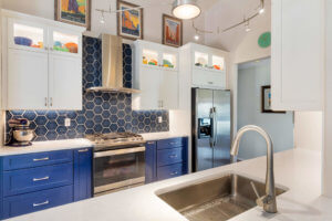 Tidal Two Toned Remodel; Design By Maria Jean