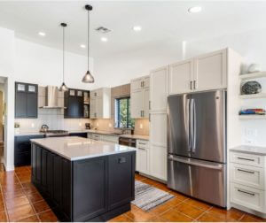 Oro Valley Frameless Kitchen Remodel; <br> Design by Maria Jean